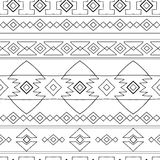 Ethnic peru pattern. Ethnic native peru pattern, bright bohemian seamless pattern Stock Photo