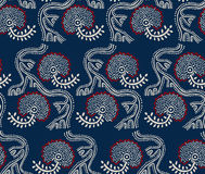 Ethnic primitive pattern Royalty Free Stock Photos