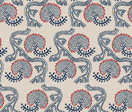 Ethnic primitive pattern Stock Photography