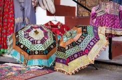 Ethnic Rajasthan umbrella Stock Photos