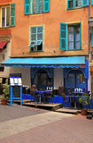 Ethnic restaurant in the Old town Nice, France Stock Photography