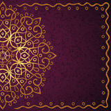 Ethnic retro background Royalty Free Stock Photography