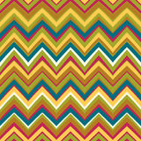 Ethnic rhombus pattern in retro colors Stock Images