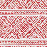 Ethnic russian seamless pattern Stock Photos