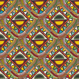 Ethnic seamless geometric pattern Royalty Free Stock Image