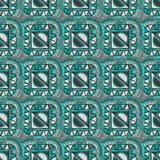 Ethnic seamless geometric pattern. Abstract ethnic seamless pattern design Royalty Free Stock Photo