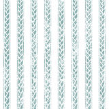 Ethnic seamless geometric pattern of the aged. Blue and white stripe Royalty Free Stock Photography
