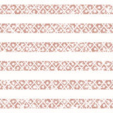 Ethnic seamless geometric pattern of the aged. Pink and white stripe Royalty Free Stock Images