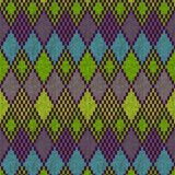 Ethnic seamless knitted pattern Royalty Free Stock Photography