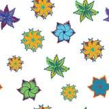 Ethnic seamless ornament. Background pattern royalty free illustration