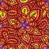 Ethnic seamless pattern. In aboriginal style Stock Illustration