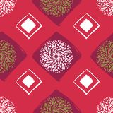 Ethnic Seamless Pattern. Abstract Oriental Mandala Background. for Wallpaper, Textile, Fabric, Paper, website background vector illustration