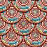 Ethnic seamless pattern Stock Image