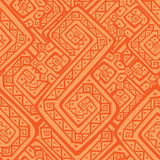 Ethnic seamless pattern. Abstract tribal background. Boho style vector illustration Stock Images