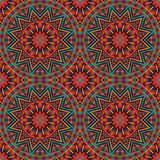 Ethnic seamless pattern. Abstract Tribal vintage ethnic seamless pattern ornamental Royalty Free Stock Photos