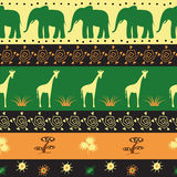 Ethnic seamless pattern Stock Photos