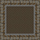 Ethnic seamless pattern with american indian Stock Photography
