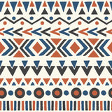 Ethnic seamless pattern. Stock Photography