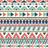 Ethnic seamless pattern. Royalty Free Stock Photography
