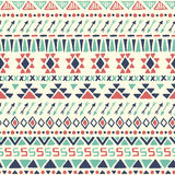 Ethnic seamless pattern. Stock Image
