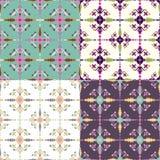 Ethnic seamless pattern. Aztec geometric background. Hand drawn navajo fabric. Modern abstract wallpaper. Vector illustration Stock Image