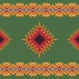 Ethnic seamless pattern. Aztec tribal art print. royalty free illustration