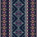 Ethnic seamless pattern. Aztec tribal art print. royalty free illustration