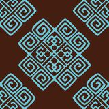 Ethnic seamless pattern background Stock Image