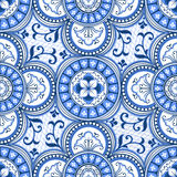 Ethnic seamless pattern Stock Photography