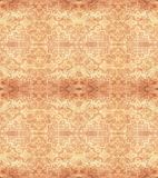 Ethnic seamless pattern. Boho beige ornament. Repeating background. Tribal, aboriginal art print. Fabric, cloth design, wallpaper, wrapping Watercolor and Hand Royalty Free Stock Photography