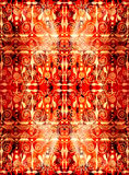 Ethnic seamless pattern. Boho red ornament. Repeating background. Tribal, aboriginal art print. Fabric, cloth design, wallpaper, wrapping Watercolor and Hand Royalty Free Stock Photos