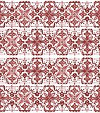 Ethnic seamless pattern. Boho sanguine ornament. Repeating background. Tribal, aboriginal art print. Fabric, cloth design, wallpaper, wrapping Watercolor and Royalty Free Stock Photo