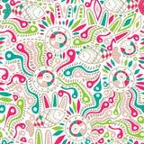 Ethnic seamless pattern. Stock Image
