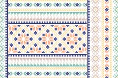 Ethnic seamless pattern Stock Image