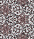 Ethnic seamless pattern with flowers and paisley - 5. Moroccan motives. Royalty Free Stock Image