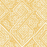 Ethnic seamless pattern. Hand drawn abstract tribal background. Boho style vector illustration Royalty Free Stock Photos