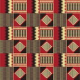 Ethnic seamless pattern. Kente cloth. Tribal print vector illustration