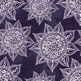 Ethnic seamless pattern with mandala and paisley. Stock Photos