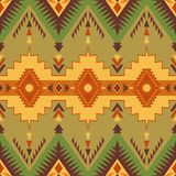 Native Southwest American, Indian, Aztec, Navajo seamless patter. Ethnic seamless pattern. Native Southwest American, Indian, Aztec textiles. Navajo print royalty free illustration