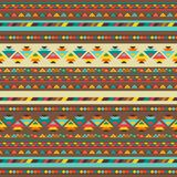 Ethnic seamless pattern in native style Stock Image