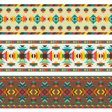 Ethnic seamless pattern in native style Royalty Free Stock Photo