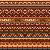Ethnic seamless pattern. Ethnic ornament abstract geometric seamless vector pattern Royalty Free Stock Image