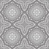 Ethnic seamless pattern ornament print design Stock Photos