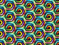 Ethnic seamless pattern ornament print design Royalty Free Stock Image