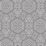 Ethnic seamless pattern ornament print design Stock Photo