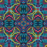 Ethnic seamless pattern ornamental Royalty Free Stock Photos