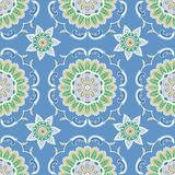 Ethnic seamless pattern. Ornamental background. Royalty Free Stock Image