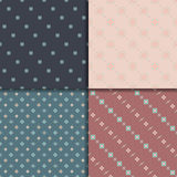 Ethnic seamless pattern set Stock Photo