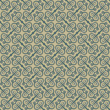 Ethnic seamless pattern with swirls. Stylized traditional oriental and Chinese ornaments. Royalty Free Stock Image