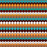 Ethnic seamless pattern. Tribal geometric background. Ethno design. Modern abstract wallpaper. Vector illustration Stock Illustration